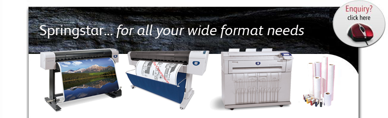A1 A0 CAD Plotters, Plan Copiers, Printers, Scanners, Folders, Wide Format Colour Printers, Cutters, Supplies and Maintenance